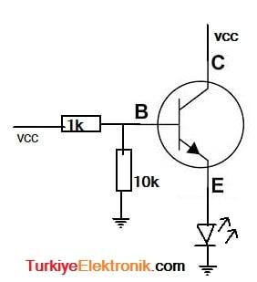 npn_transistor_anahtarlama