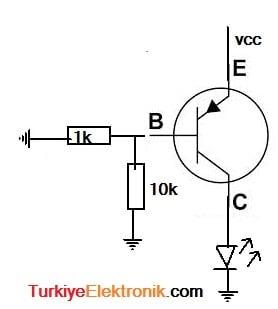 pnp_transistor_anahtarlama