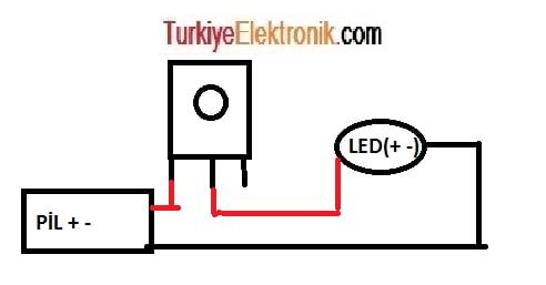 Potansiyometre kullanarak led parlaklığının ayarlanmas.