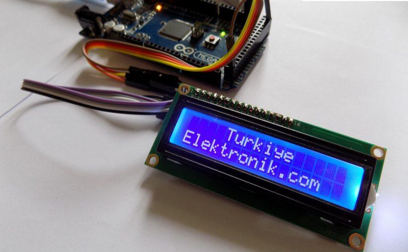 Arduino LCD I2C Kullanımı