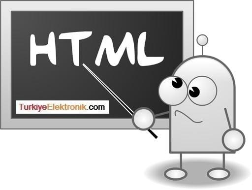 Temel HTML Bilgileri
